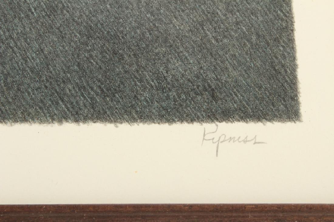 """Robert Kipness """"Green Green #502"""" Lithograph 1980s - 5"""