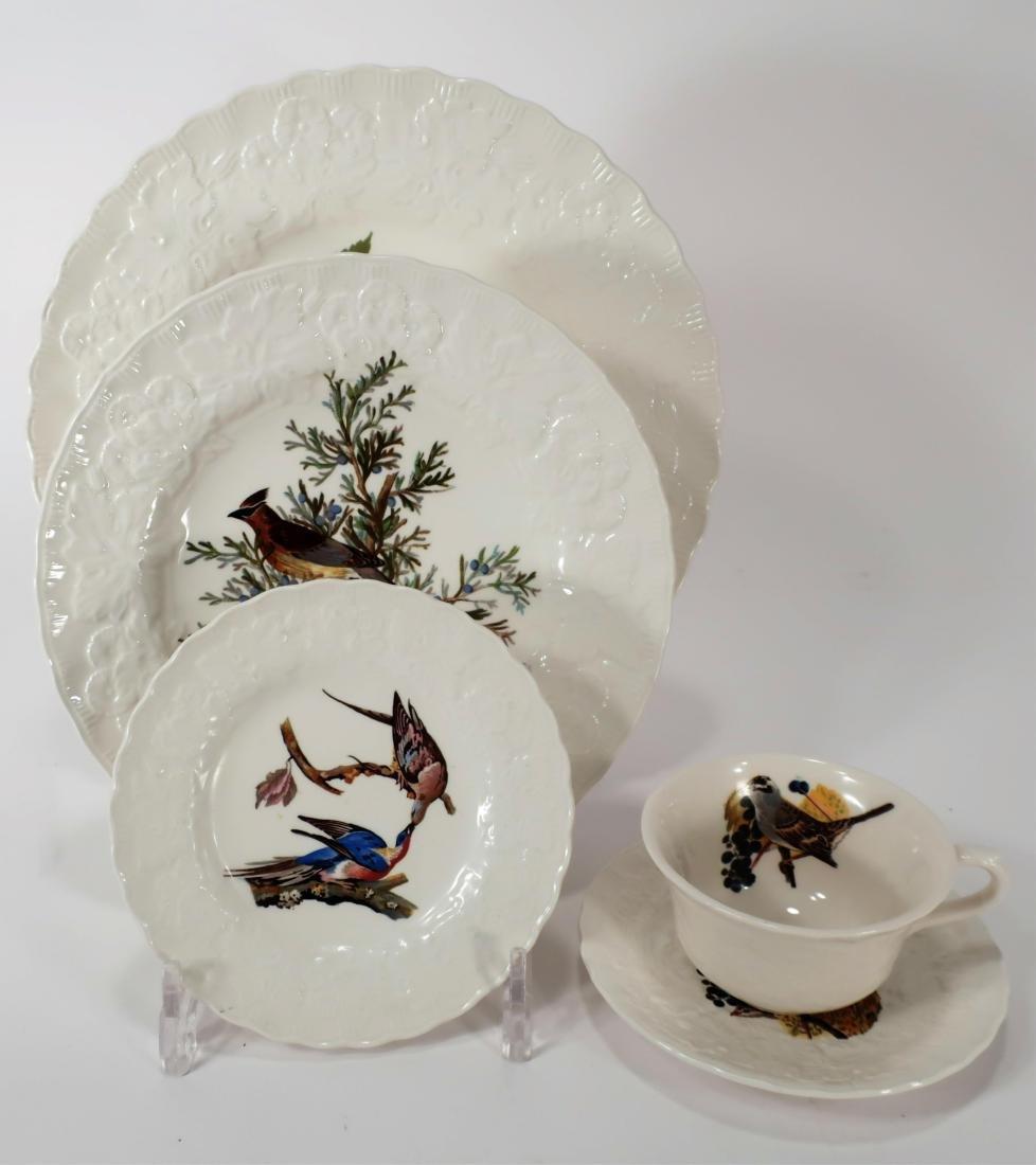 "Alfred Meakin ""Audubon Birds"" Porcelain Dinnerware"