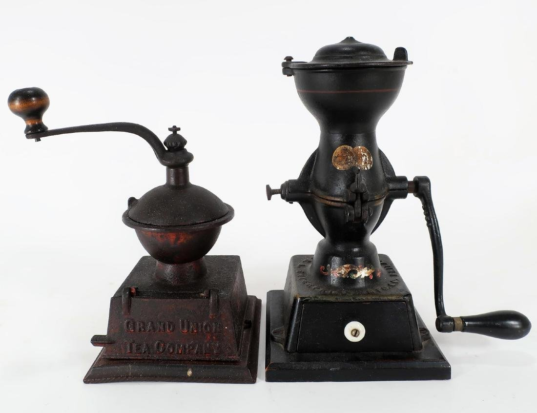Griswold Coffee Mill and Another Coffee Mill