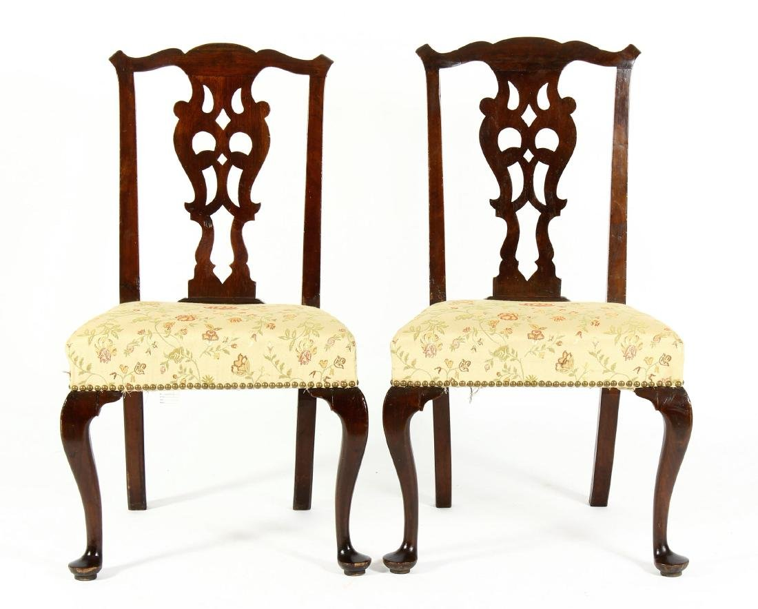 Pr. of Georgian Side Chairs,18th C.