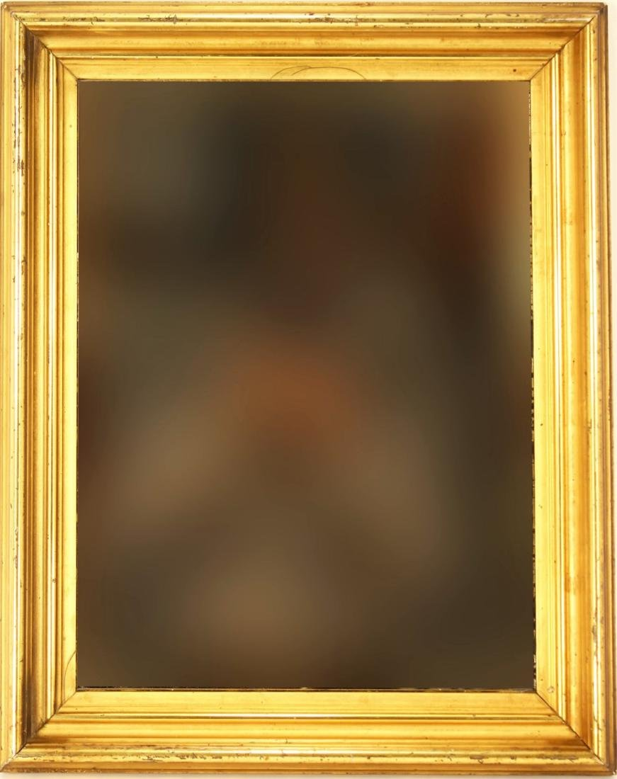 Giltwood Frame as Mirror, American, e. 19th c