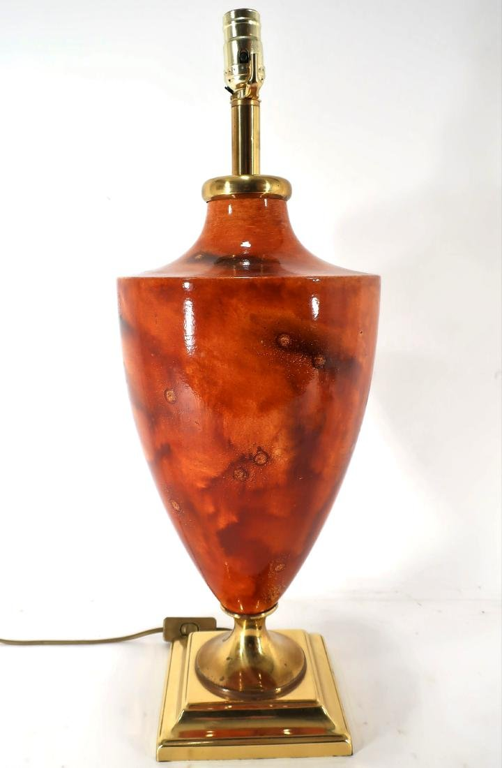 Maison Le Dauphin Glazed Ceramic Table Lamp