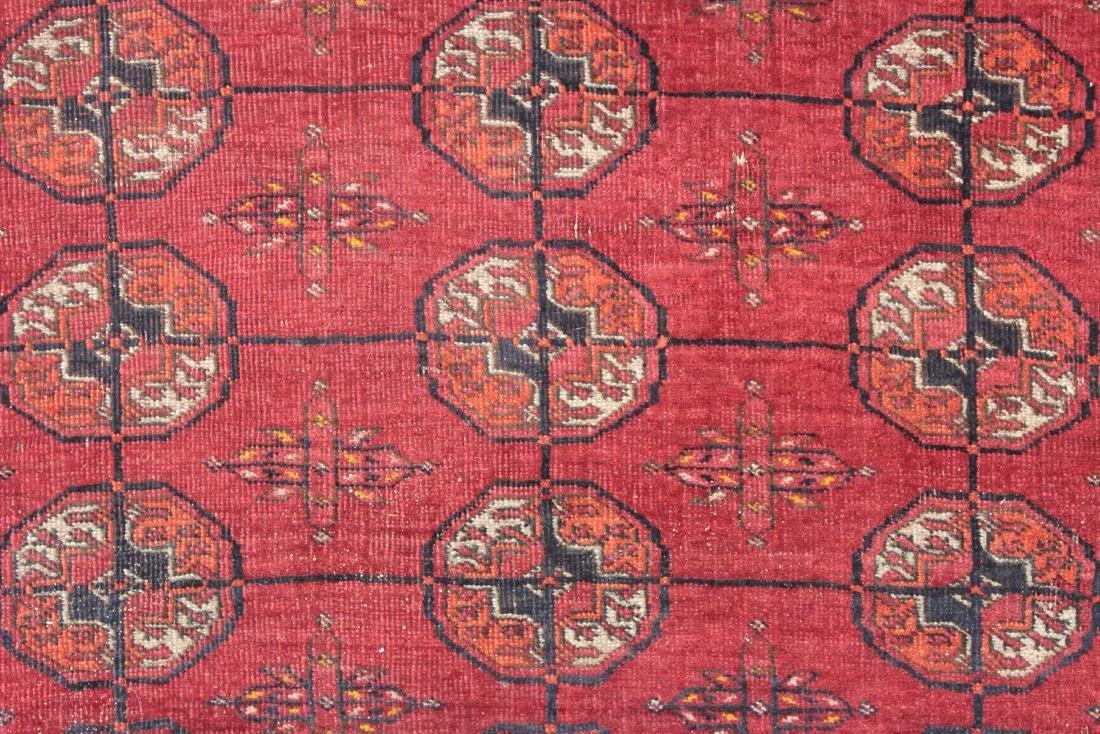 Antique Tekke Bukhara, Bokhara Rug, Hand-Knotted