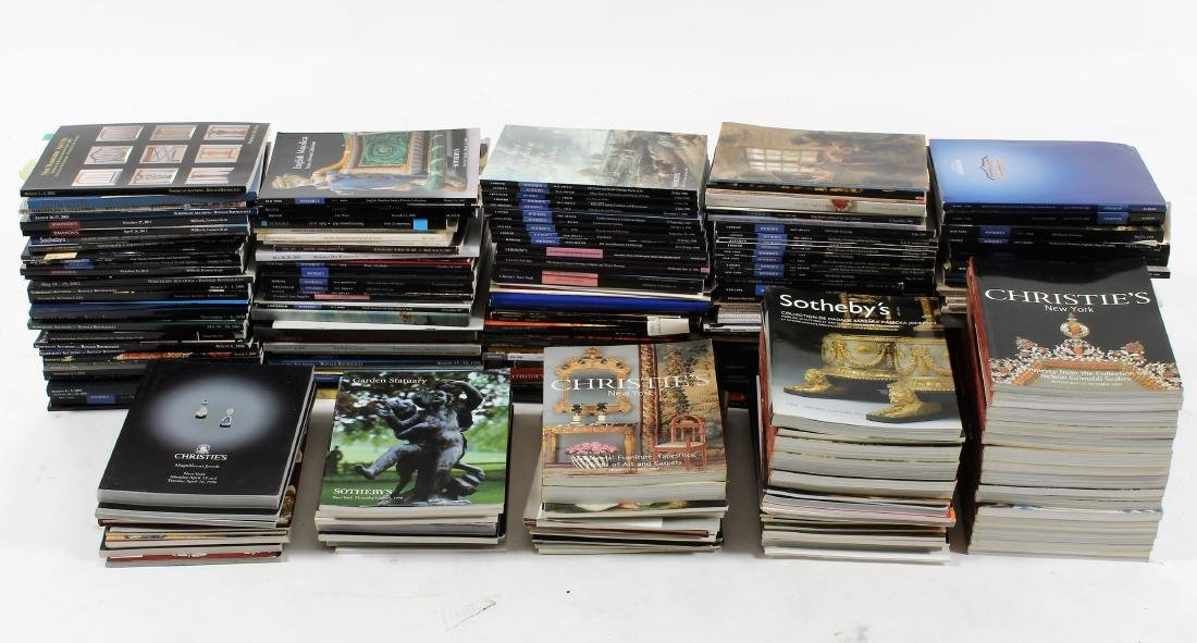 Lg. Selection of Auction Catalogs, Sothebys, etc.