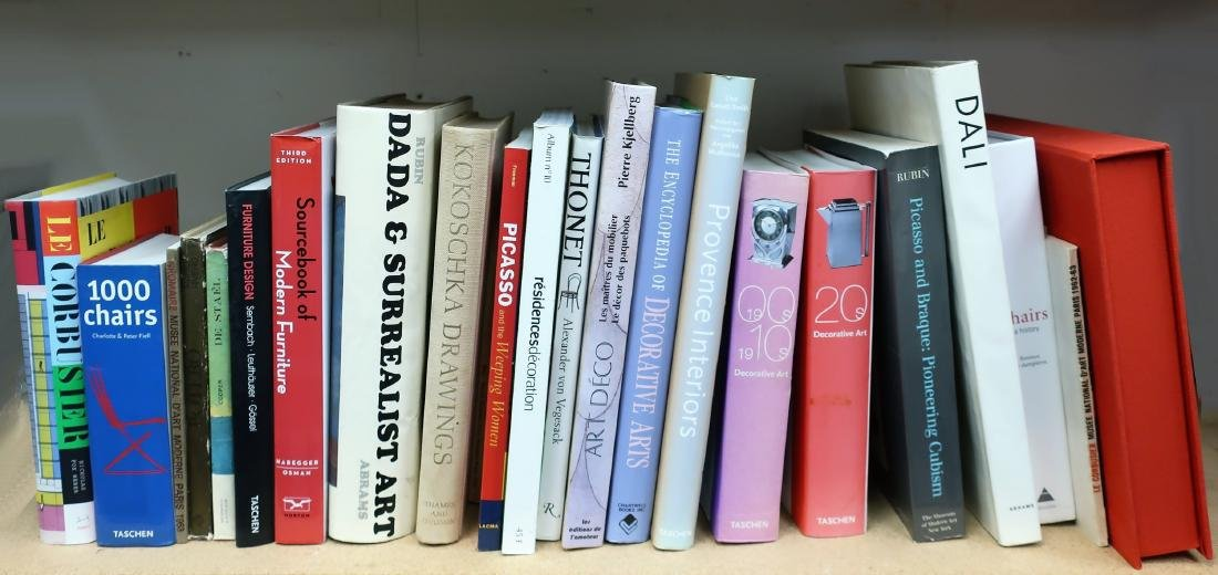 30+ Modern Modern Art & Design Volumes