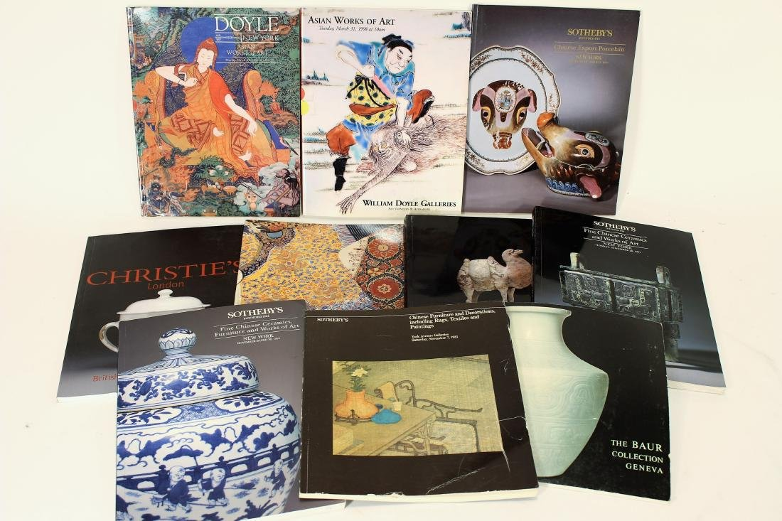 Collection of Asian Antiques Auction Catalogs
