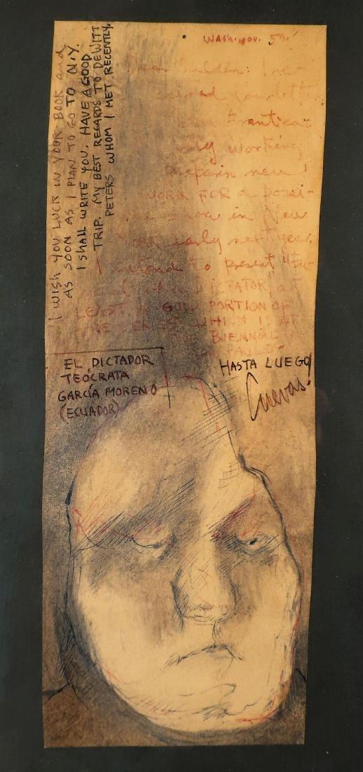 """Jose Cuevas Mex. """"...Dictador Moreno"""" M/M, 1959"""
