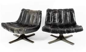 Javier Carvajal, Pair of Lounge Chairs