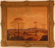"Leonid Gechtoff, Am., ""The Blue Ridge Mountains"""