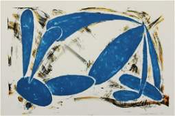 "Elizabeth Murray Am 1940-2007, ""Sniff"" Lithograph"