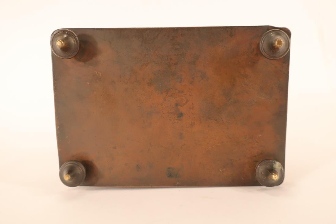 Renaissance Style Bronze Box - 8