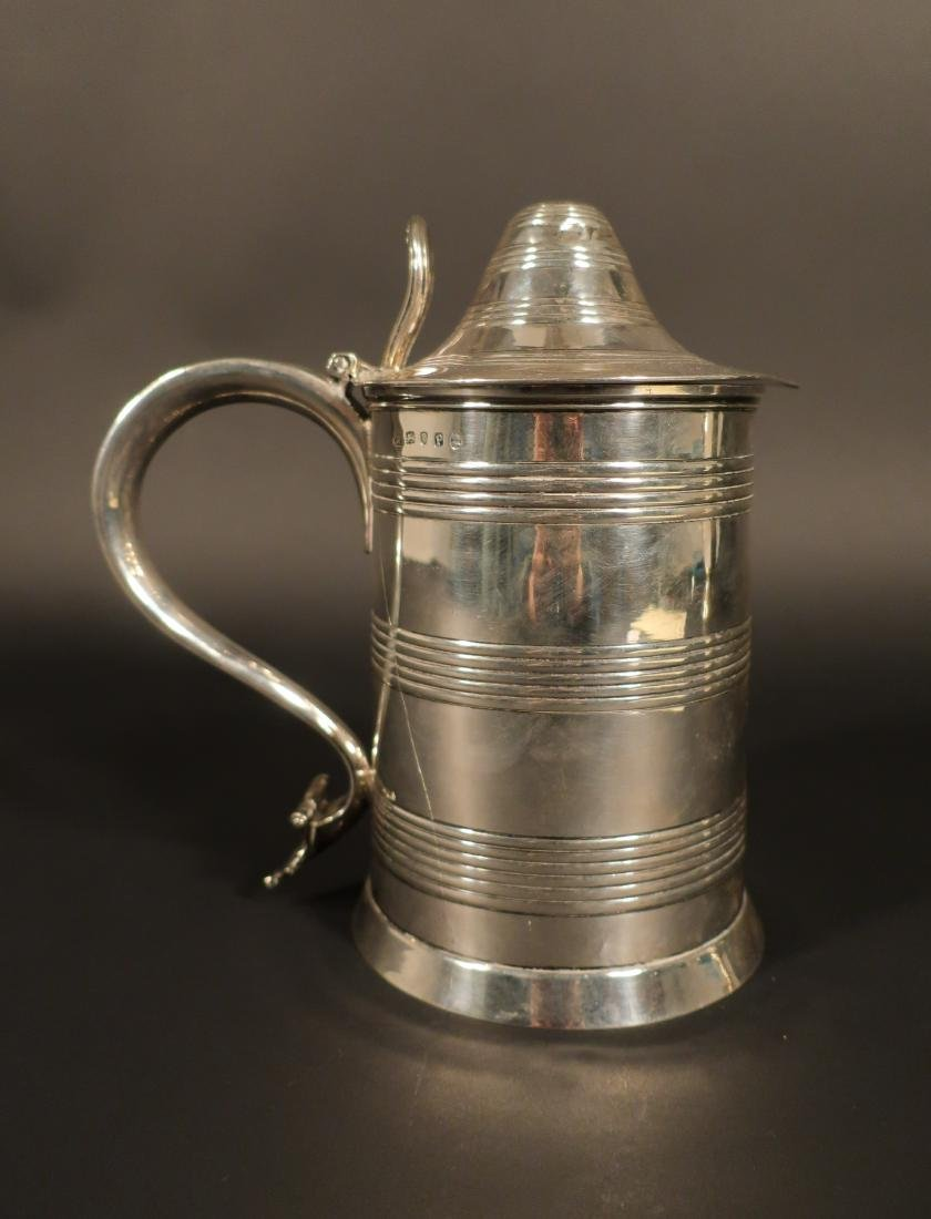 George III Sterling Tankard