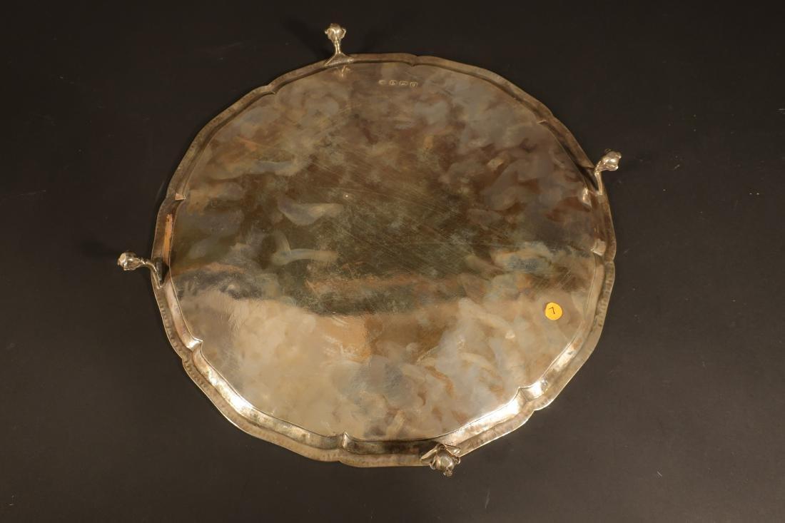 George III Sterling Silver Salver, John Schofield - 5