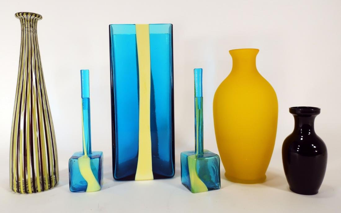 """""""Venini"""" Glass Dresser Bottles, and Other Glass"""