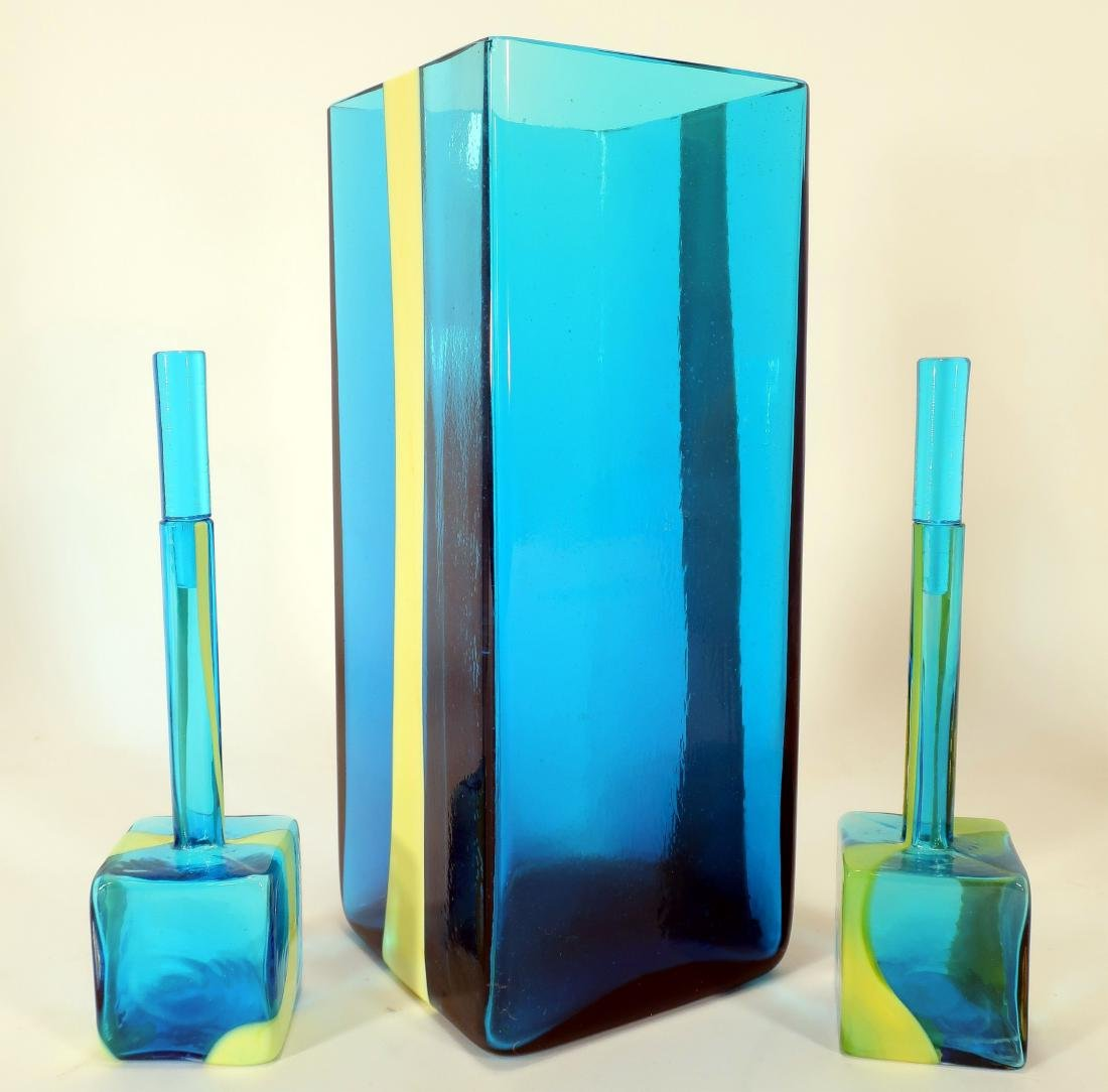 """""""Venini"""" Glass Dresser Bottles, and Other Glass - 2"""