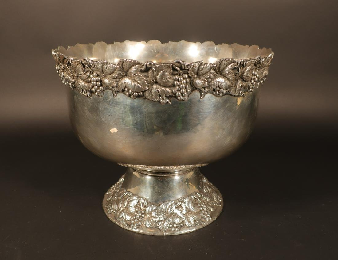 Sterling Punch Bowl, Shreve and Co., San Francisco