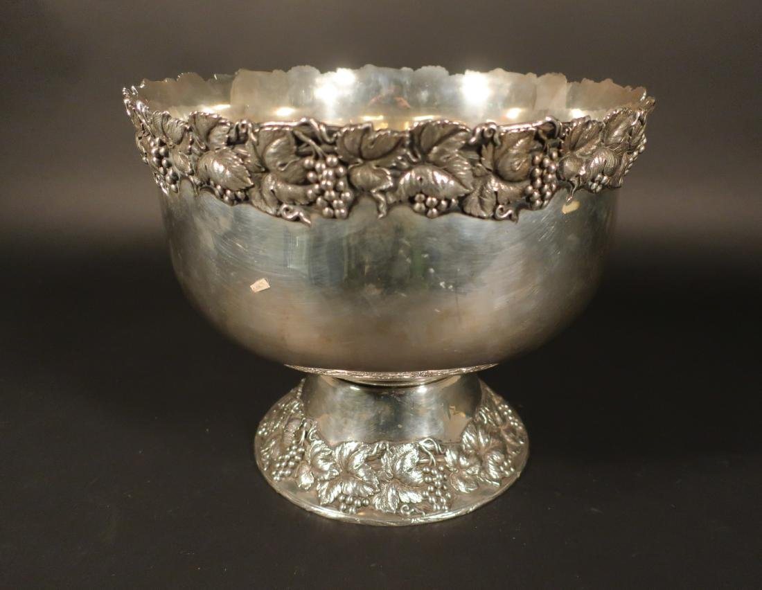 Sterling Punch Bowl, Shreve and Co., San Francisco - 2
