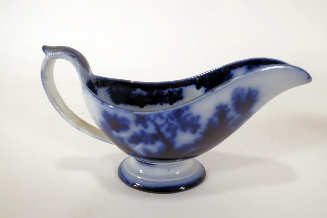 Ironstone Pitchers and Sauce Boat - 8