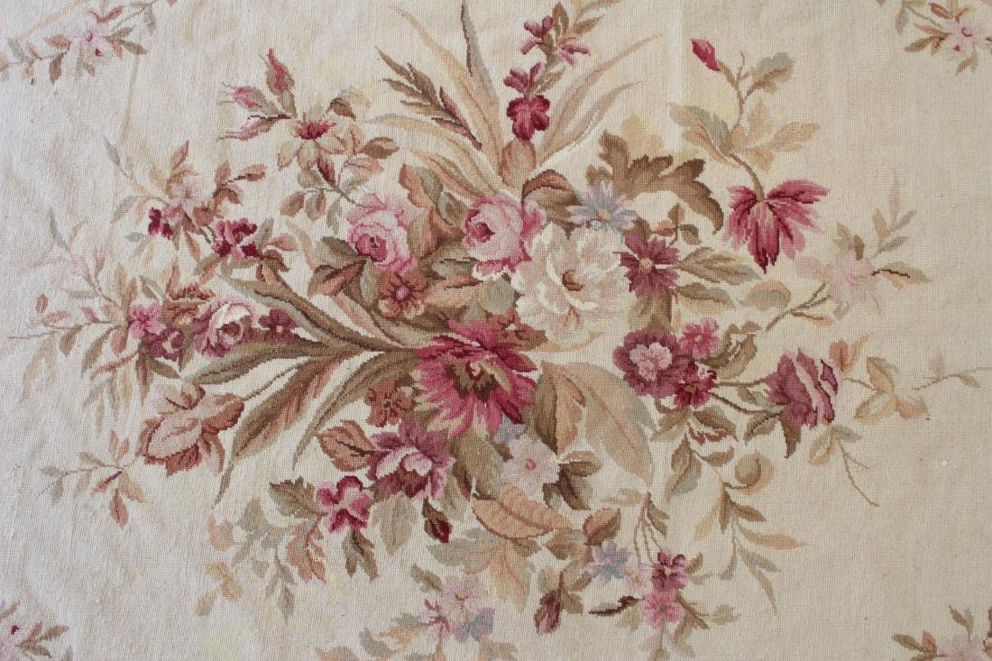 French Aubusson Style Needlepoint Carpet