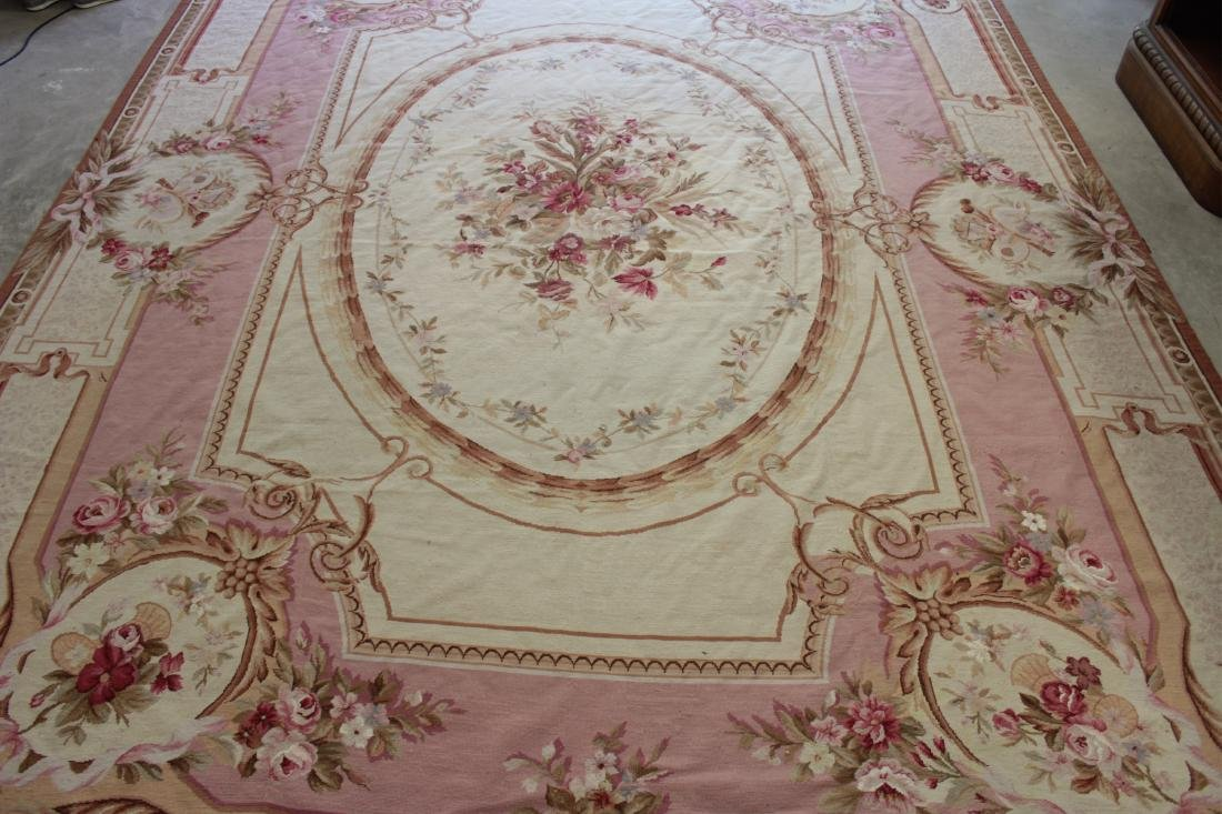 French Aubusson Style Needlepoint Carpet - 2
