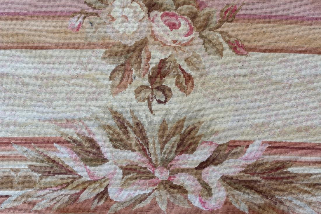 French Aubusson Style Needlepoint Carpet - 4
