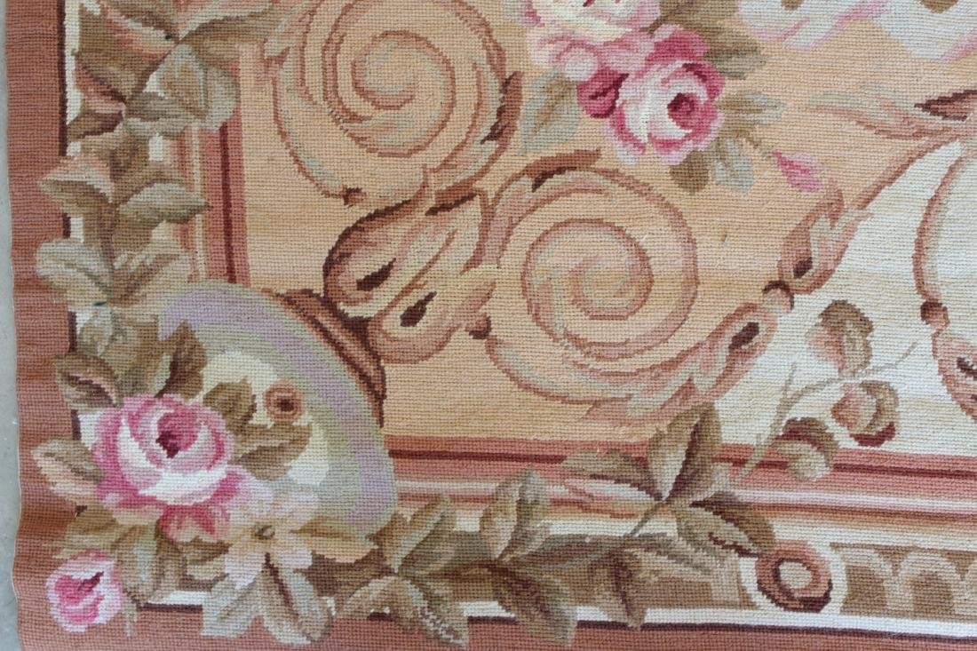 French Aubusson Style Needlepoint Carpet - 5