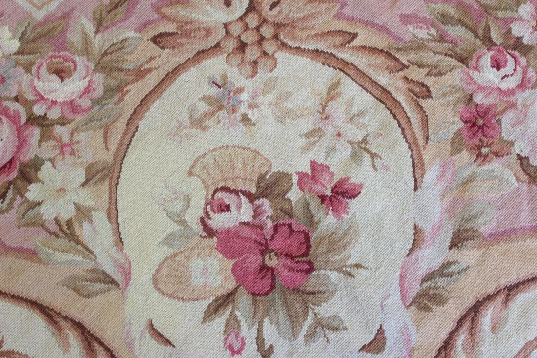 French Aubusson Style Needlepoint Carpet - 6