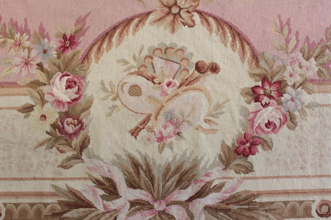 French Aubusson Style Needlepoint Carpet - 7