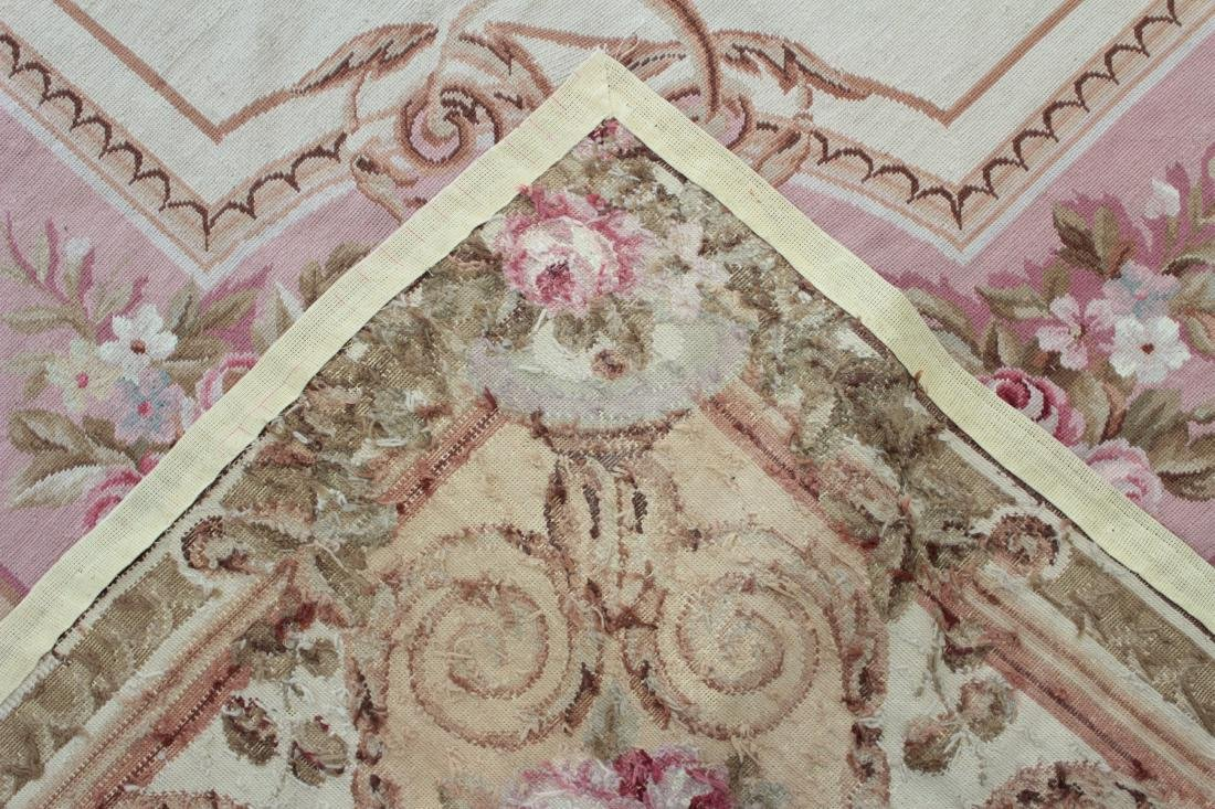 French Aubusson Style Needlepoint Carpet - 8