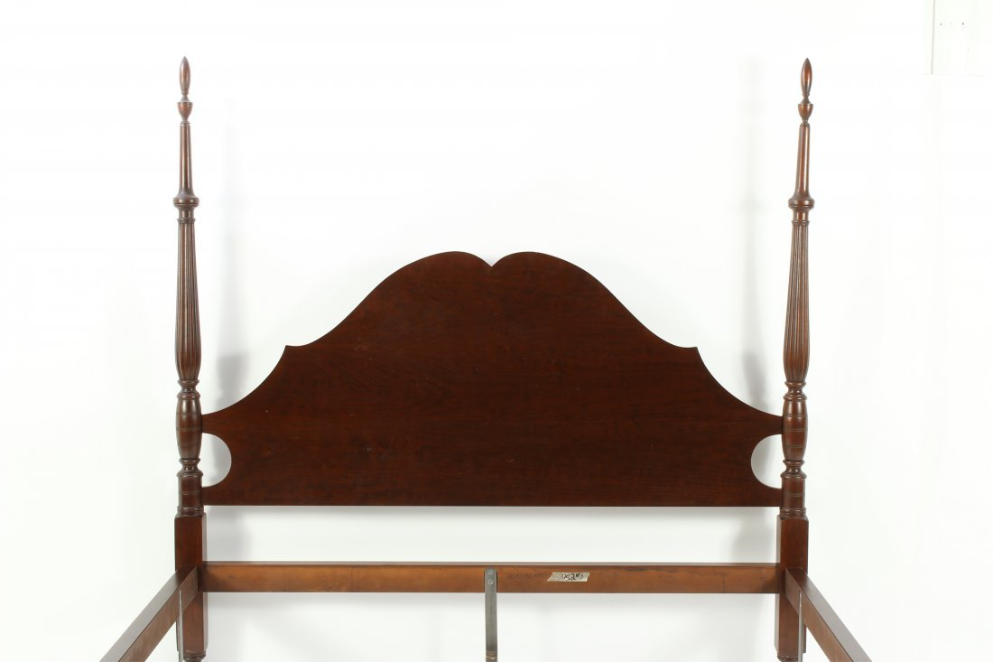 Eldred Wheeler Sheraton Style Field Bed - 4