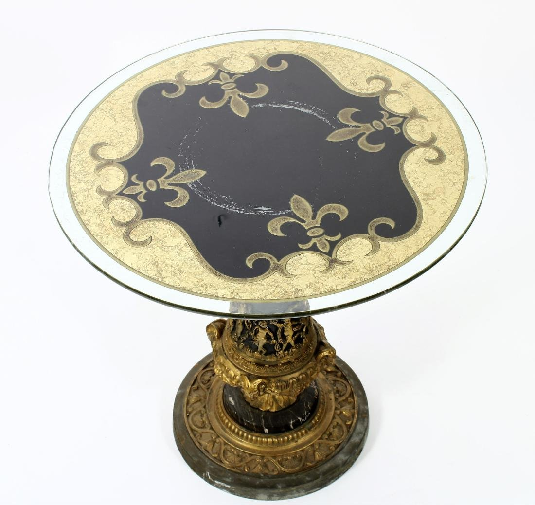 French Empire Style Occasional Table - 2