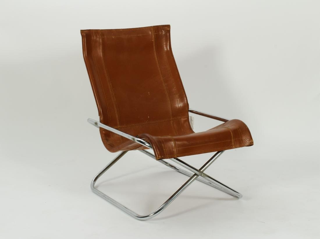 Takeshi Nii Folding Lounge Chair, c. 1970's