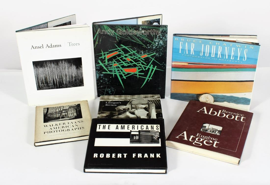 Photography Books; Adams, Arbus, Etc.