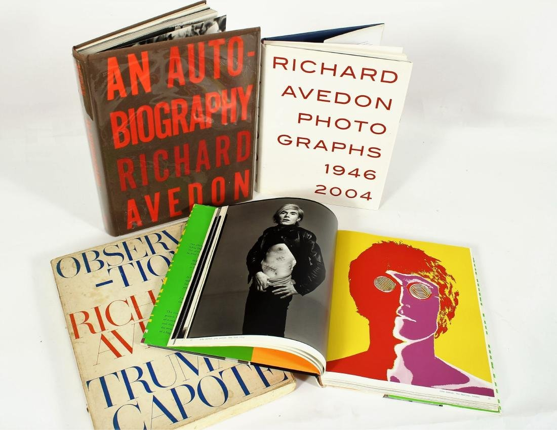 Photography Books; Adams, Arbus, Etc. - 2