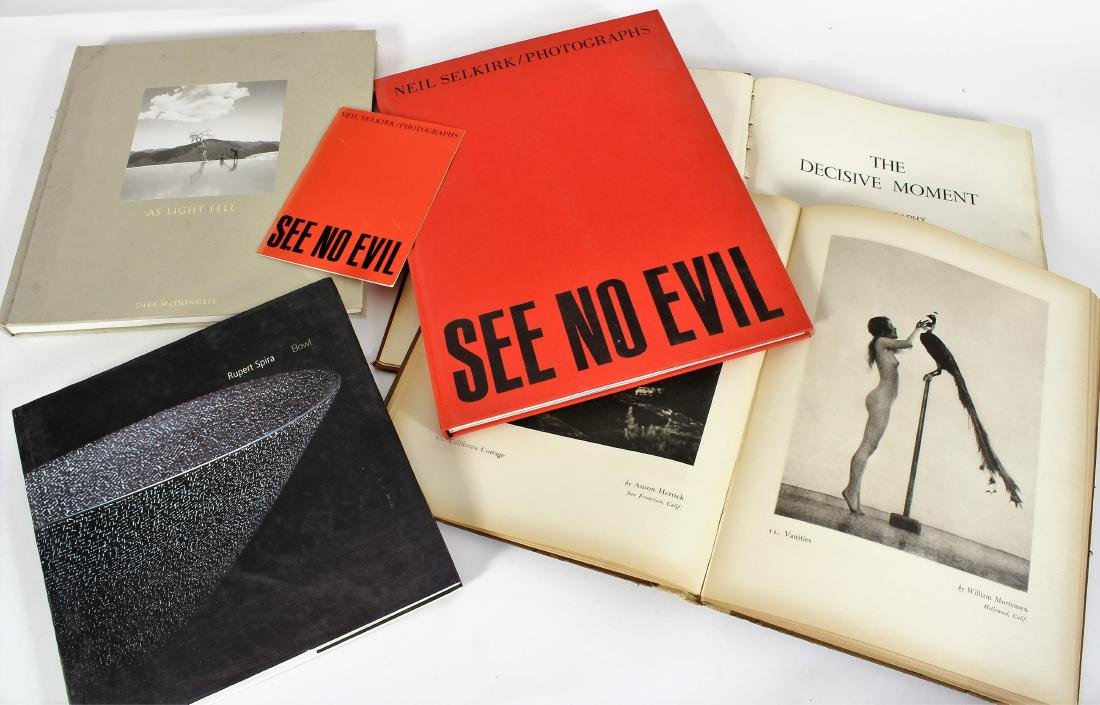 Photography Books; Adams, Arbus, Etc. - 3