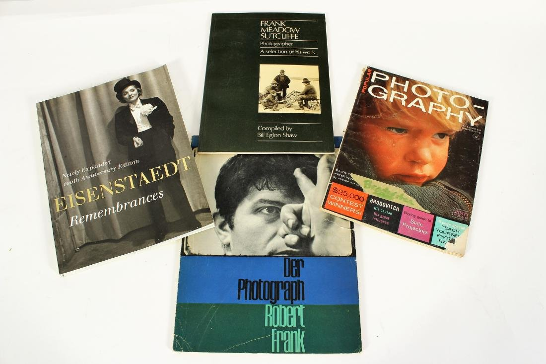 Photography Books; Adams, Arbus, Etc. - 5