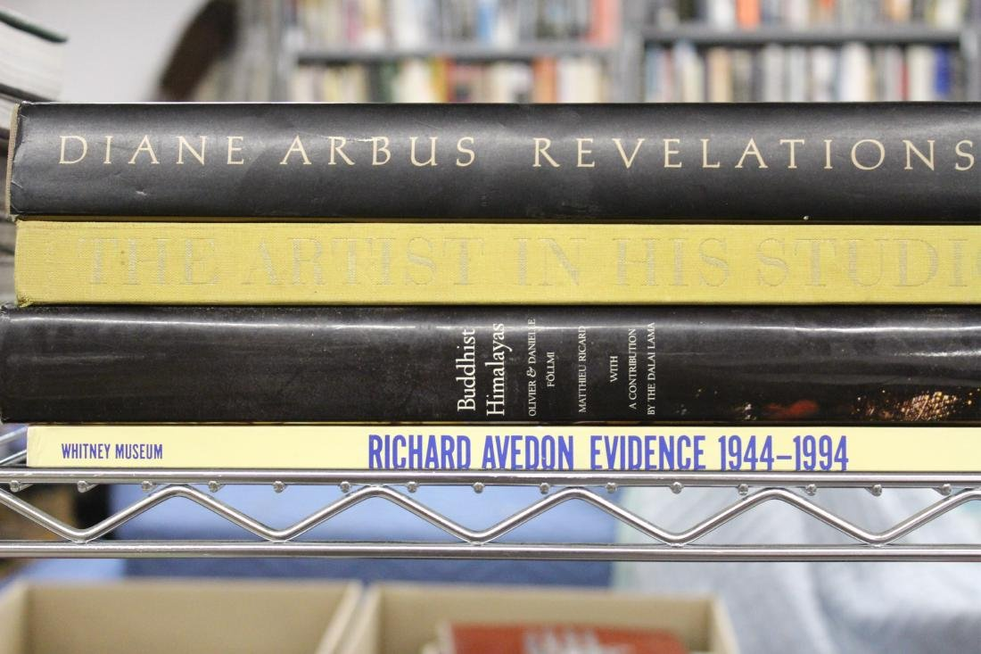 Photography Books; Adams, Arbus, Etc. - 7