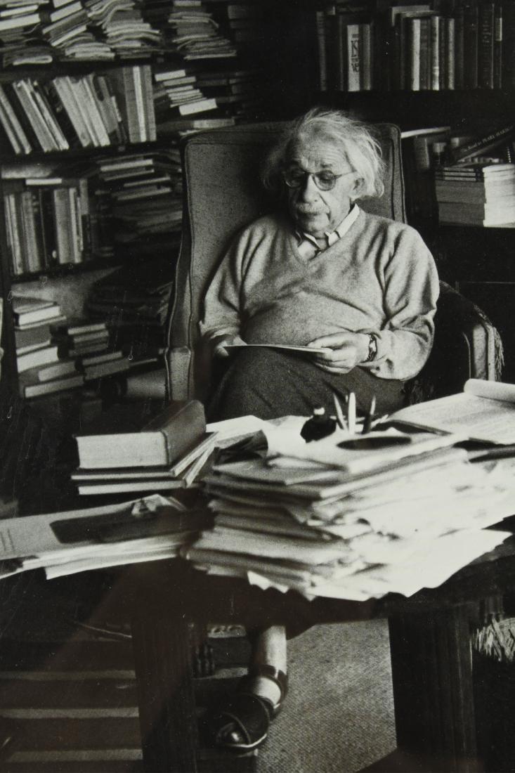 After Ernst Haas, Einstein at Princeton, Photo