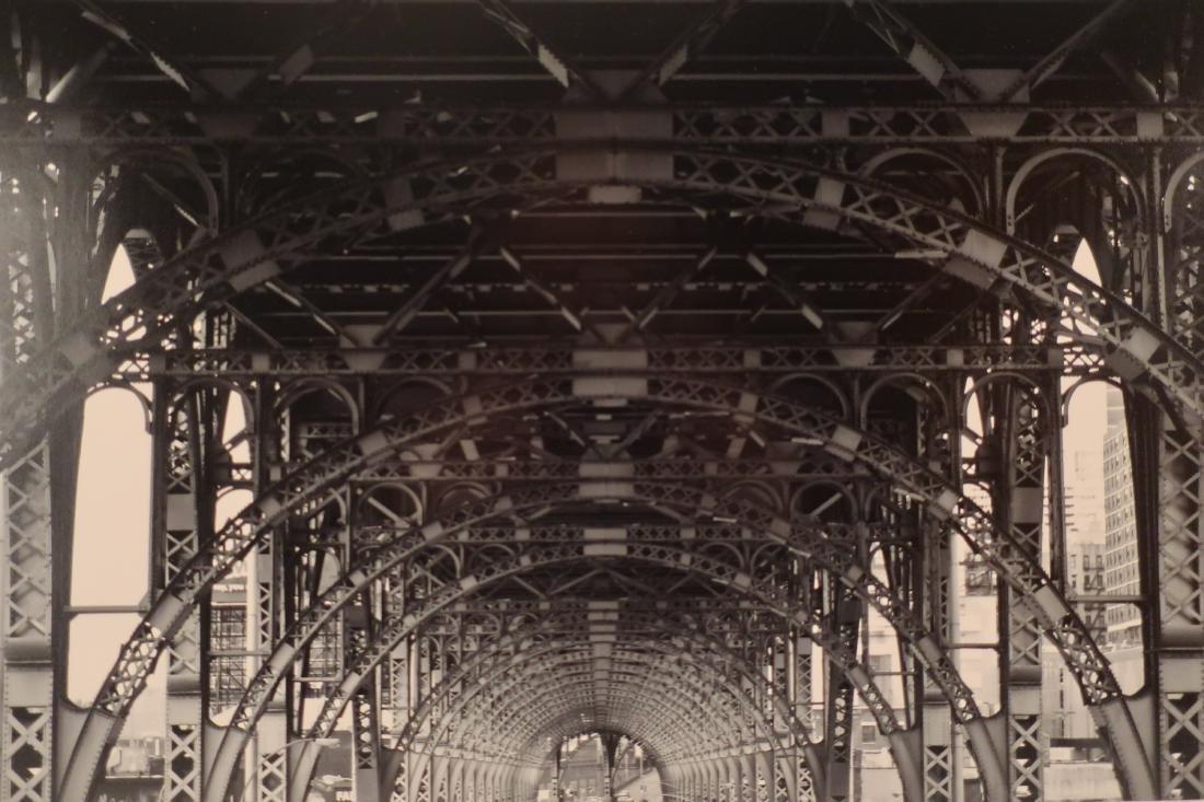 David Garrison, Harlem Viaduct, B&W Photograph