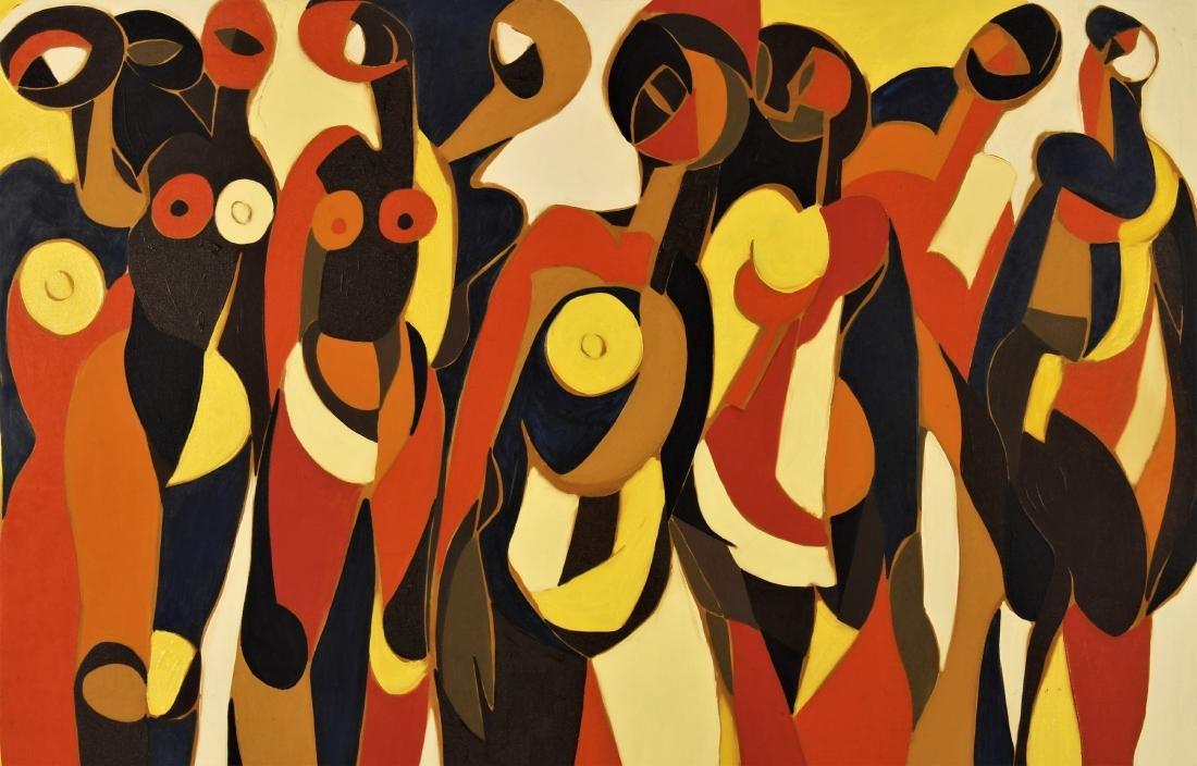 Arnold Weber, Am., 1931-2010, Group of Figures