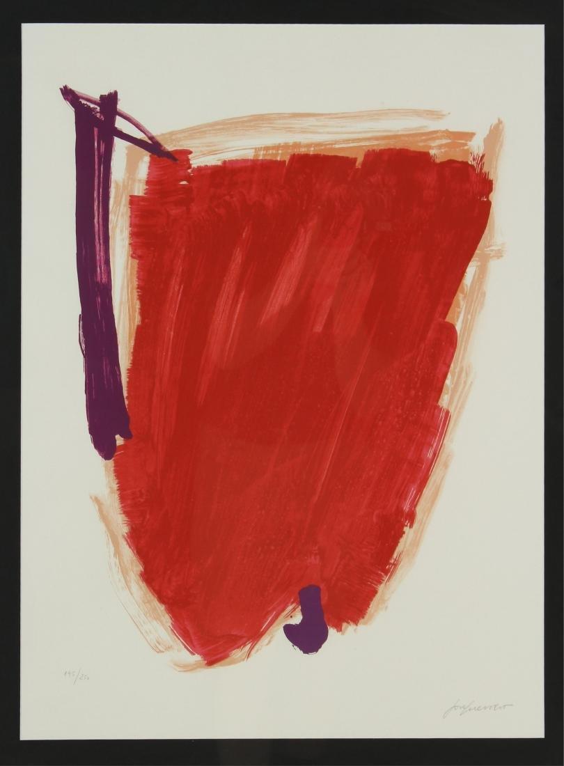 Jose Guerrero, Sp., 1914-1991, Untitled, Print Sgd