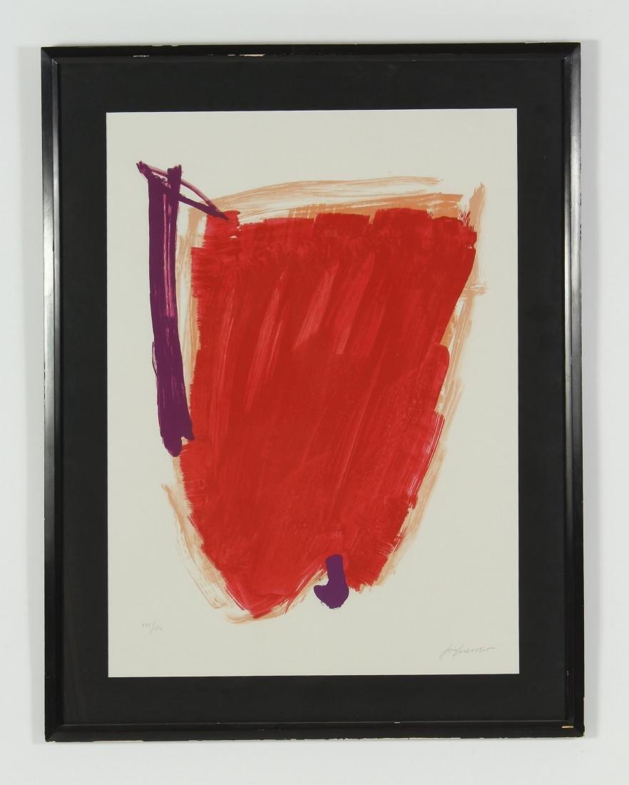 Jose Guerrero, Sp., 1914-1991, Untitled, Print Sgd - 2