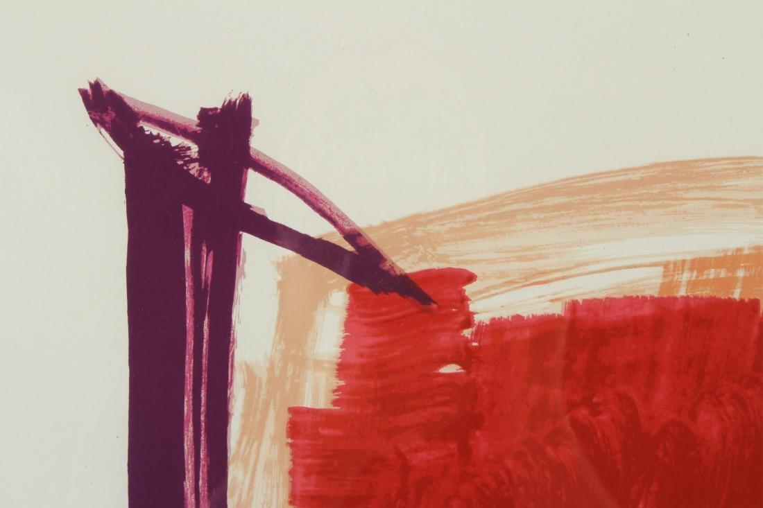 Jose Guerrero, Sp., 1914-1991, Untitled, Print Sgd - 3