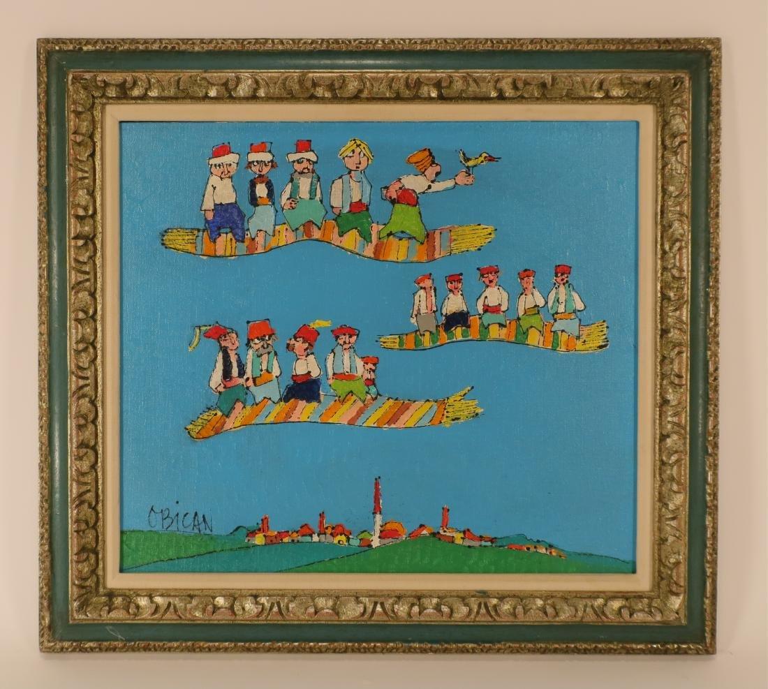 "Jovan Obicon, Yugo, ""Race of Flying Carpets"" O/B"