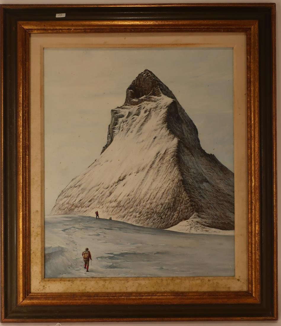 "Reynolds Thomas Am. ""The Ascent - Matterhorn"" O/C"