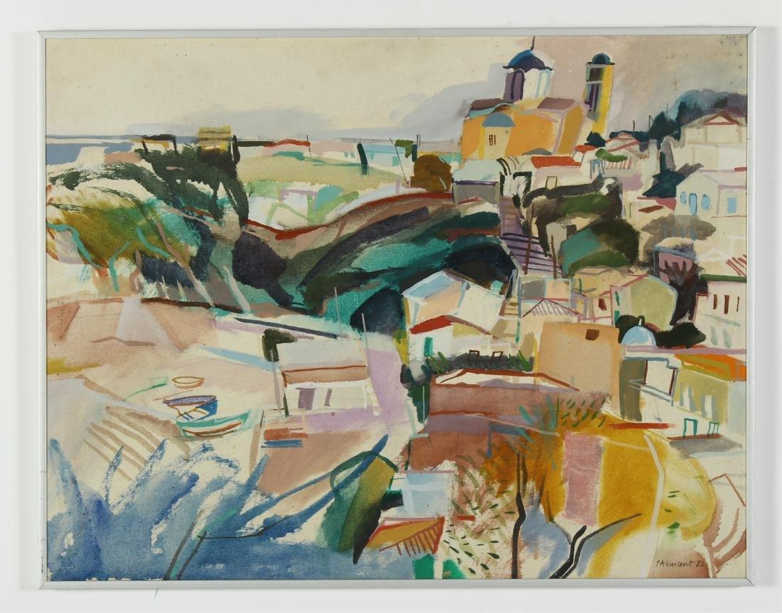 Lot of 7 Pauline Vincent Interiors & Landscape O/C - 4