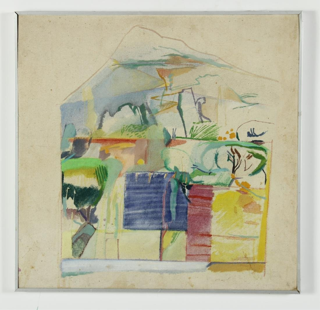 Lot of 7 Pauline Vincent Interiors & Landscape O/C - 5