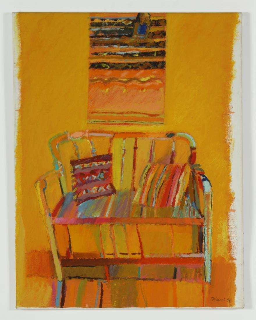 Lot of 7 Pauline Vincent Interiors & Landscape O/C - 6