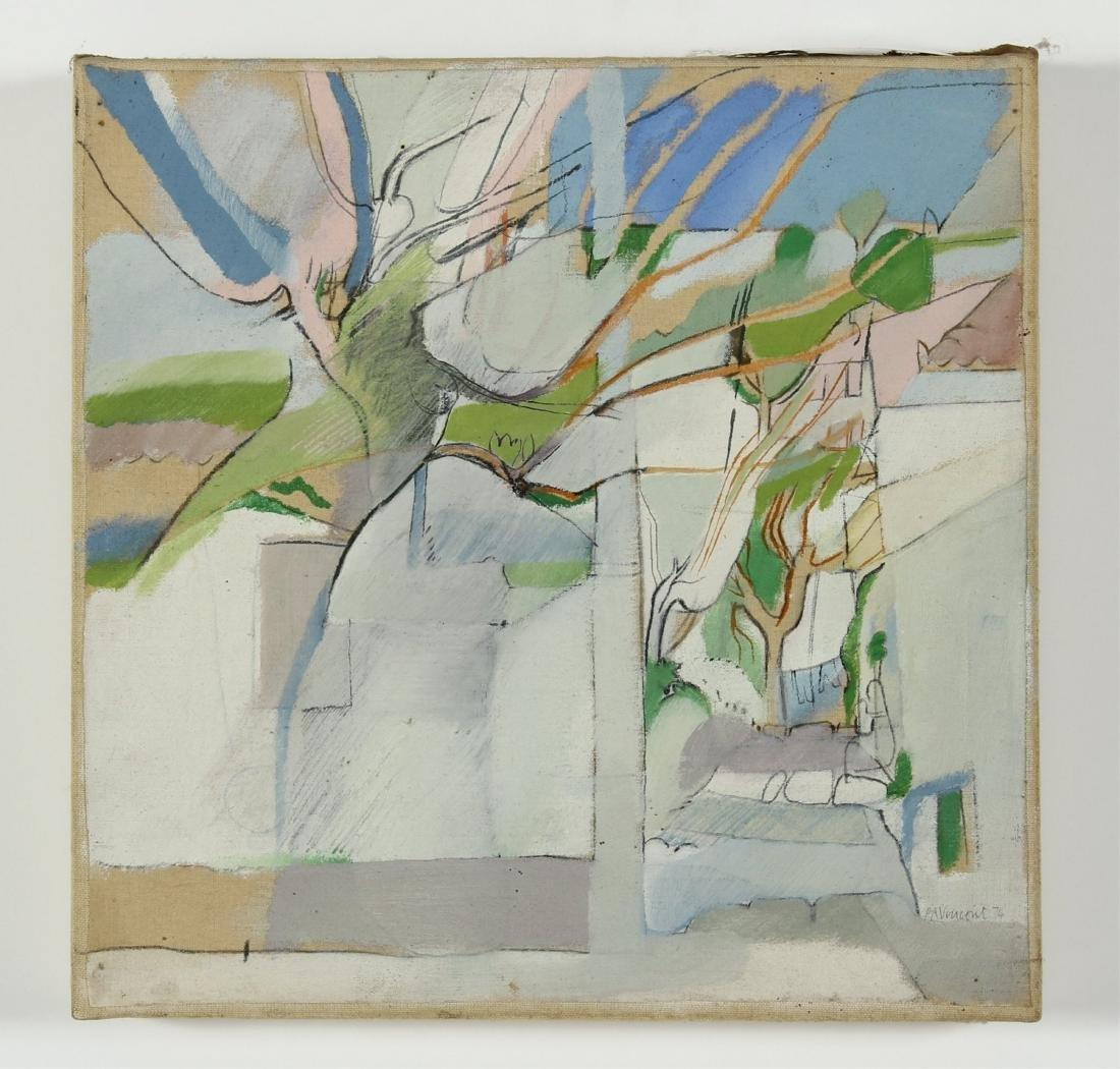 Lot of 7 Pauline Vincent Interiors & Landscape O/C - 7