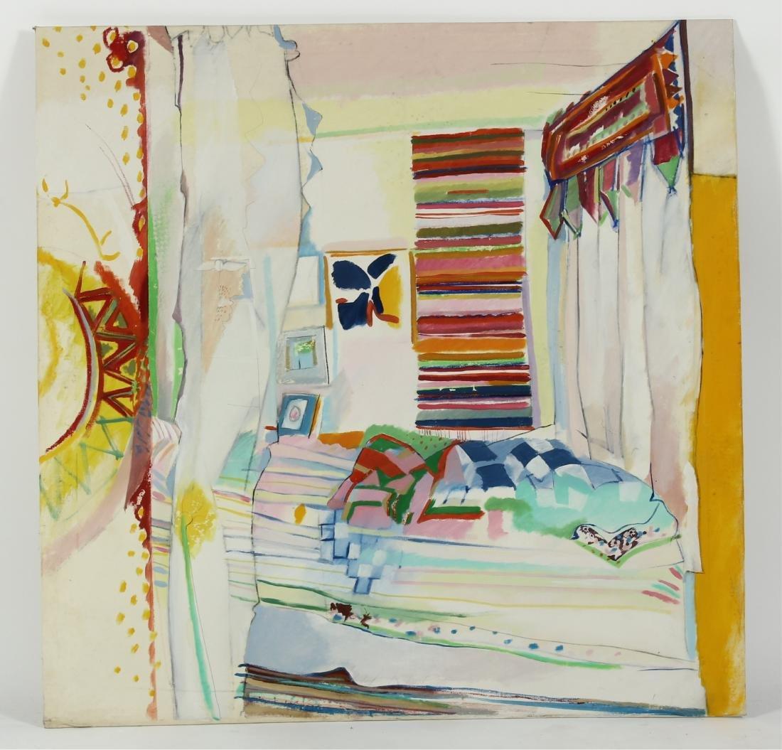 Lot of 7 Pauline Vincent Interiors & Landscape O/C - 8